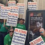 Management Meeting With Striking Fort Worth Musicians