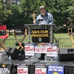 Rally For Pension Reform