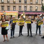 Musicians Perform Outside Bob Iger & Oprah Talk