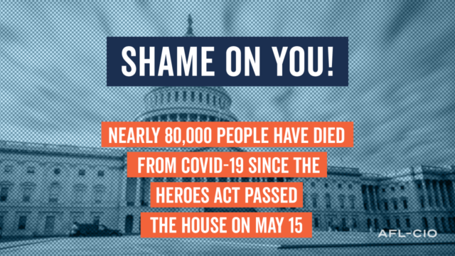 Shame On Senate Graphic
