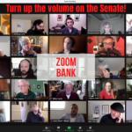 We need your help to turn up the volume on the Senate!