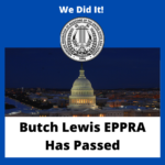 We Did It! Butch Lewis EPPRA Has Passed!